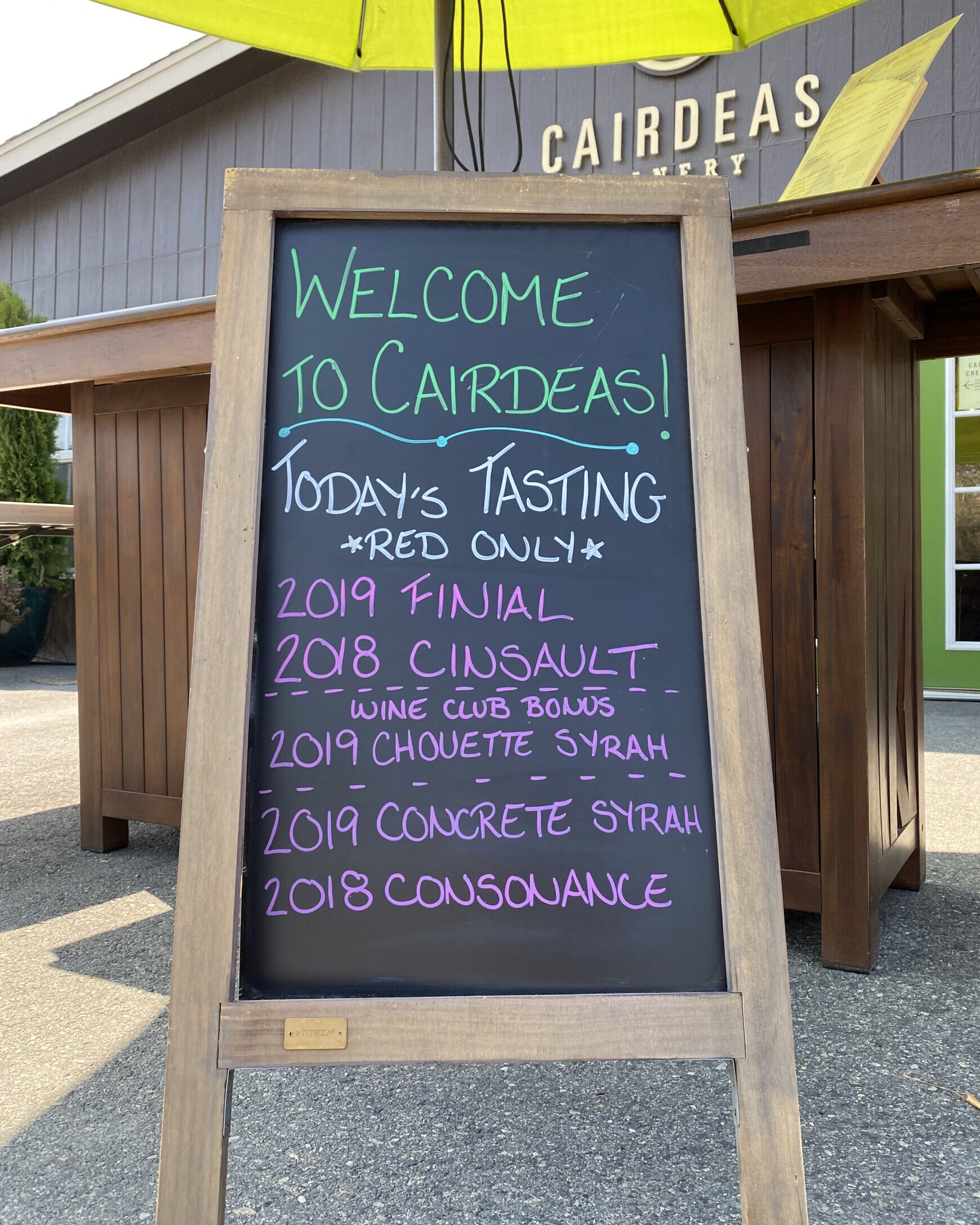 TASTINGS BY RESERVATION